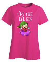 Im The Lil Elf Christmas - Ladies T Shirt