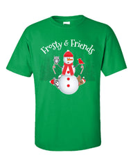 Frosty And Friends Christmas - Unisex Tshirt