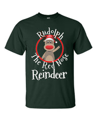 Rudolph The Red Nose Reindeer Christmas - Unisex Tshirt