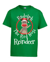 Rudolph The Red Nose Reindeer Christmas - Kids T Shirt
