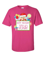 Happy Birthday Jesus Merry Christmas - Unisex Tshirt