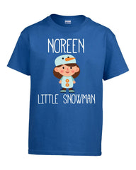 NOREEN Little Snowman Christmas - Kids T Shirt