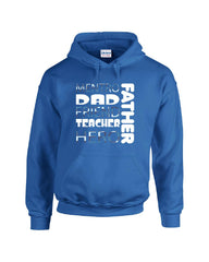 01Mentro DAD Friend Teacher Hero Father - Hoodie