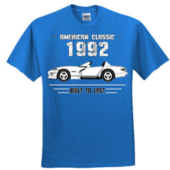1992 American Classic - Built To Last - Adult Tshirt