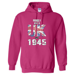 Proudly Made in UK since 1945 - Adult Hoodie