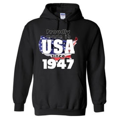 Proudly Made in USA since 1947 - Adult Hoodie
