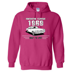 1969 American Classic - Built To Last - Adult Hoodie