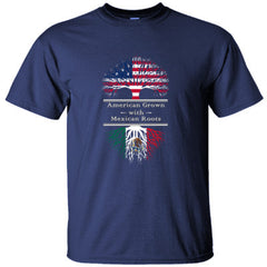 AMERICAN GROWN WITH MEXICAN ROOTS GREAT SHIRT MEXICO - Ultracotton T-Shirt feature