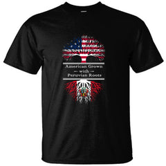 AMERICAN GROWN WITH PERUVIAN ROOTS GREAT SHIRT PERU - Ultracotton T-Shirt