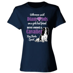 CAVALIER & DIAMONDS LADIES SHIRT - Ladies' Cotton T-Shirt