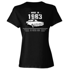 Made in 1963 - All Original Parts - Ladies' Cotton T-Shirt
