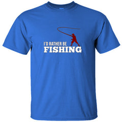 I'd Rather Be Fishing - Ultracotton T-Shirt