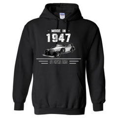 Made in 1947 - All Original Parts - Adult Hoodie