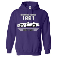 1991 American Classic - Built To Last - Adult Hoodie