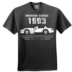 1993 American Classic - Built To Last - Adult Tshirt