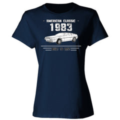 1983 American Classic - Built To Last - Ladies' Cotton T-Shirt