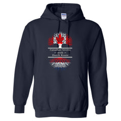 CANADIAN GROWN WITH DUTCH ROOTS GREAT HOODIE - Adult Hoodie