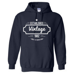 1962 VINTAGE AGED TO PERFECTION HOODIE