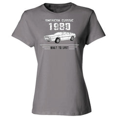 1980 American Classic - Built To Last - Ladies' Cotton T-Shirt