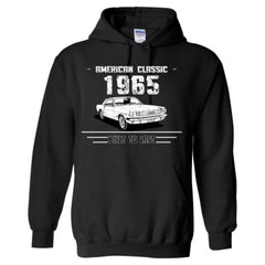 1965 American Classic - Built To Last - Adult Hoodie