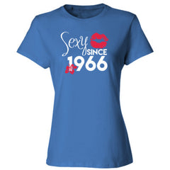 Sexy Since 1966 Shirt - Ladies' Cotton T-Shirt