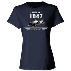 Made in 1947 - All Original Parts - Ladies' 4.5 oz., 100% Ringspun Cotton nano-T® T-Shirt
