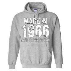 Made in 1966 - Aged To Perfection - Adult Hoodie
