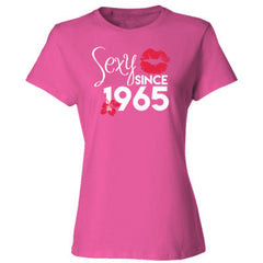 Sexy Since 1965 Shirt - Ladies' Cotton T-Shirt