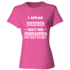 I Speak Chinese