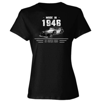 Made in 1946 - All Original Parts - Ladies' 4.5 oz., 100% Ringspun Cotton nano-T® T-Shirt