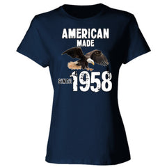 American Made since 1958 - Ladies' Cotton T-Shirt
