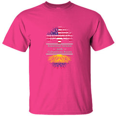 AMERICAN GROWN WITH COLOMBIAN ROOTS GREAT SHIRT COLOMBIA - Ultracotton T-Shirt