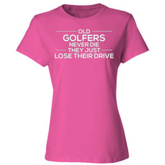 Golfers (white font) - Ladies' Cotton T-Shirt