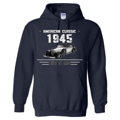 1945 American Classic, Built to Last - Adult Hoodie
