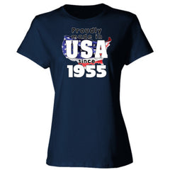 Proudly Made in USA since 1955 - Ladies' Cotton T-Shirt