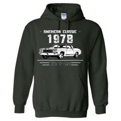 1978 American Classic - Built To Last - Adult Hoodie