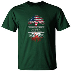 AMERICAN GROWN WITH POLISH ROOTS GREAT SHIRT POLAND - Ultracotton T-Shirt