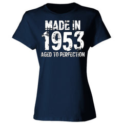 Made in 1953 - Aged To Perfection - Ladies' 4.5 oz., 100% Ringspun Cotton nano-T® T-Shirt