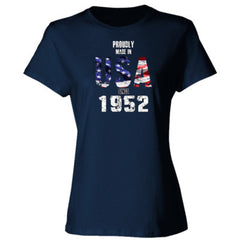 Proudly Made in USA since 1952 - Ladies' Cotton T-Shirt