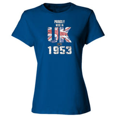 Proudly Made in UK since 1953 - Ladies' Cotton T-Shirt