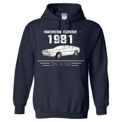1981 American Classic - Built To Last - Adult Hoodie
