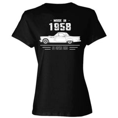 Made in 1958 - All Original Parts - Ladies' 4.5 oz., 100% Ringspun Cotton nano-T® T-Shirt