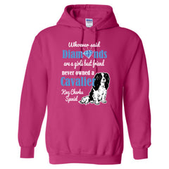 CAVALIER & DIAMONDS SHIRT - Adult Hoodie