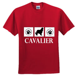 CAVALIER KING CHARLES SPANIEL T SHIRT - Ultra Cotton™ 100% Cotton T Shirt