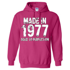 Made in 1977 - Aged To Perfection - Adult Hoodie