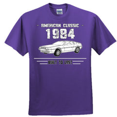 1984 American Classic - Built To Last - Adult Tshirt