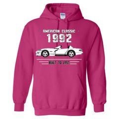 1992 American Classic - Built To Last - Adult Hoodie