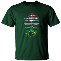 AMERICAN GROWN WITH BRAZILIAN ROOTS GREAT SHIRT BRAZIL - Ultracotton T-Shirt