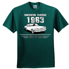 1963 American Classic - Built To Last - Adult Tshirt
