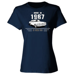 Made in 1967 - All Original Parts - Ladies' Cotton T-Shirt